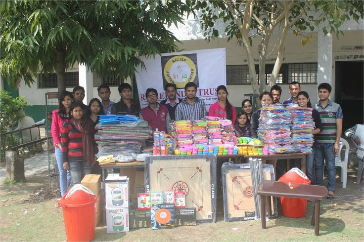 School chalo abhiyan by Relief India Trust