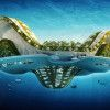 Lotus Concept-Floating City of the Future