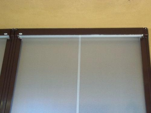 Tenda veranda invernale ermetica con frangivento e tessuto VINITEX retinato antingiallimento Torino www.mftendedasoletorino (15)