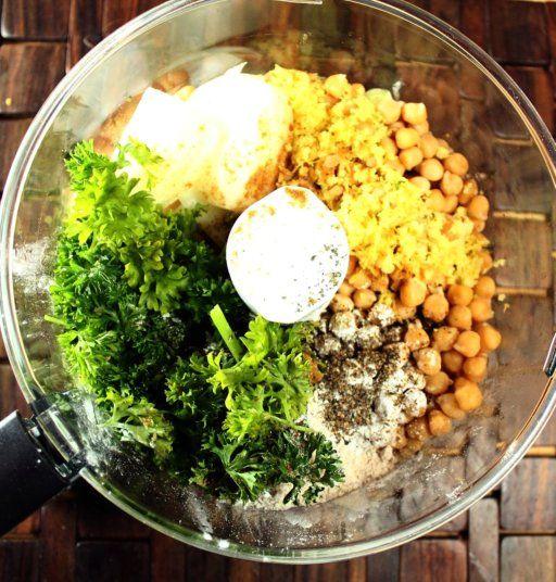 baked falafel | Yummy Food -- vegetarian! | Pinterest