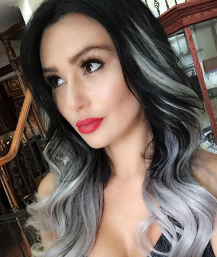 Black hair with grey highlights pictures the best black hair 2017 50 stylish highlighted hairstyles for black hair grey highlights pmusecretfo Gallery