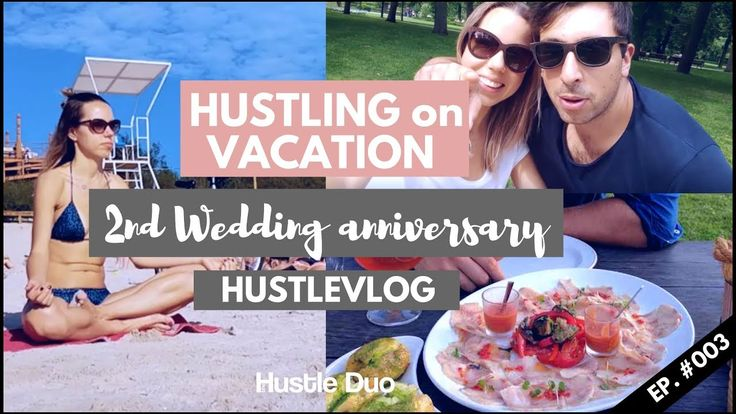HUSTLING on VACATION | 2nd wedding ANNIVERSARY | Hustlevlog 003  One married couple's journey in a vlog format. Check it out!  Lithuania