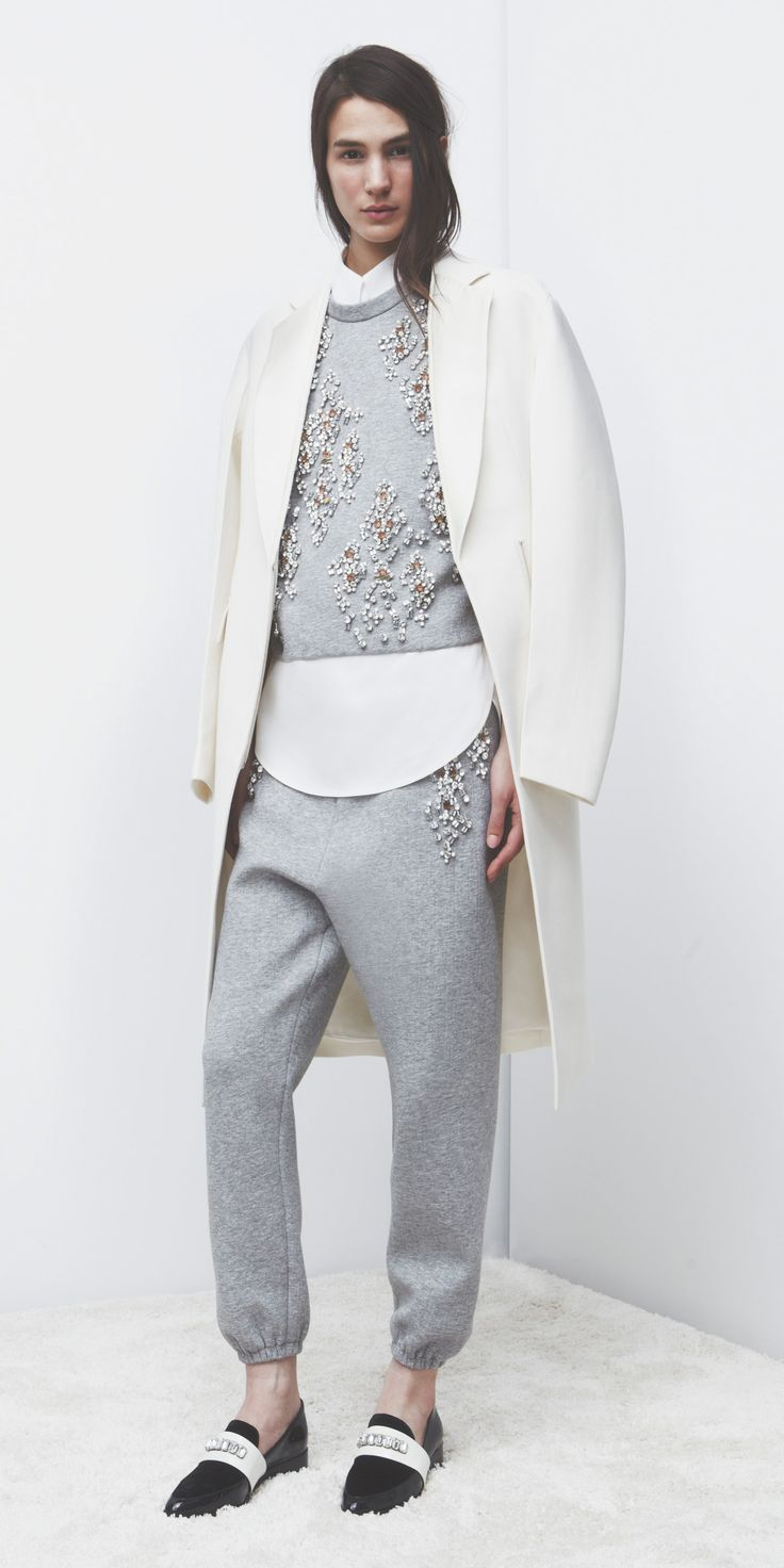 3.1 Philip Lim with the world's best (only?) out-of-the-house appropriate matching trackie set