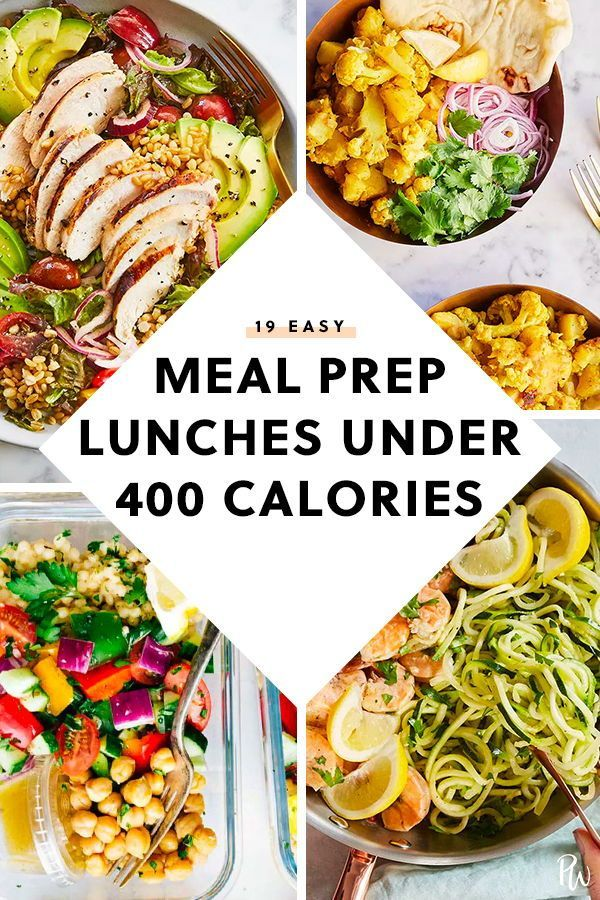 19 Easy Meal Prep Lunches Under 400 Calories Easy Meal Prep Lunches Lunch Meal Prep Meals Under 400 Calories