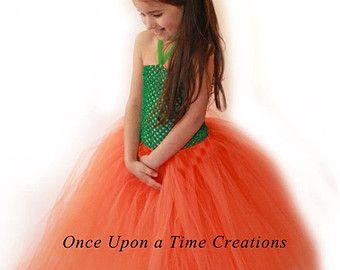 Linda calabaza tutú - foto Prop, disfraces de Halloween - las niñas talla 3 6 9 12 18 meses 2T 3T 4T 5T6 7 8 10 12 - Vestido de otoño desfile