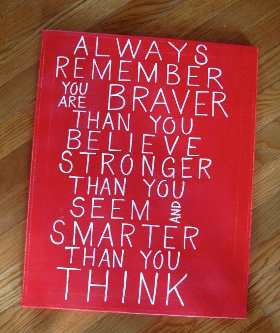 Christopher Robin Pooh Quote Custom Canvas Sign