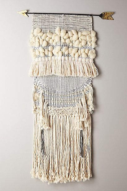 Handwoven Arrow Tapestry, Large #anthropologie