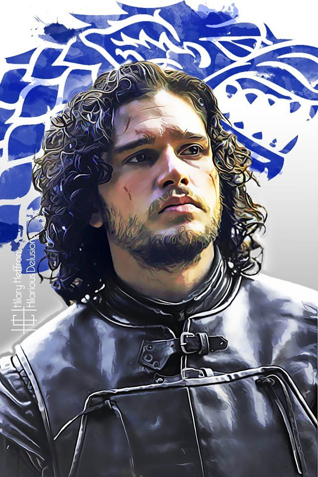Jon Snow | Stark House Sigil by Hilary Heffron - Hilarious Delusions