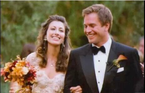 2009 - Michael Weatherly and wife Bojana Jankovic