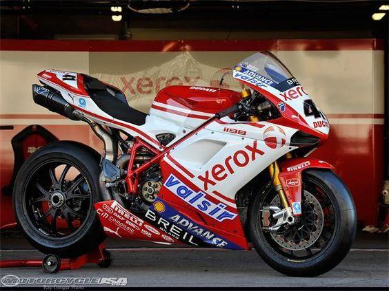 Xerox Ducati WSBK - Haga