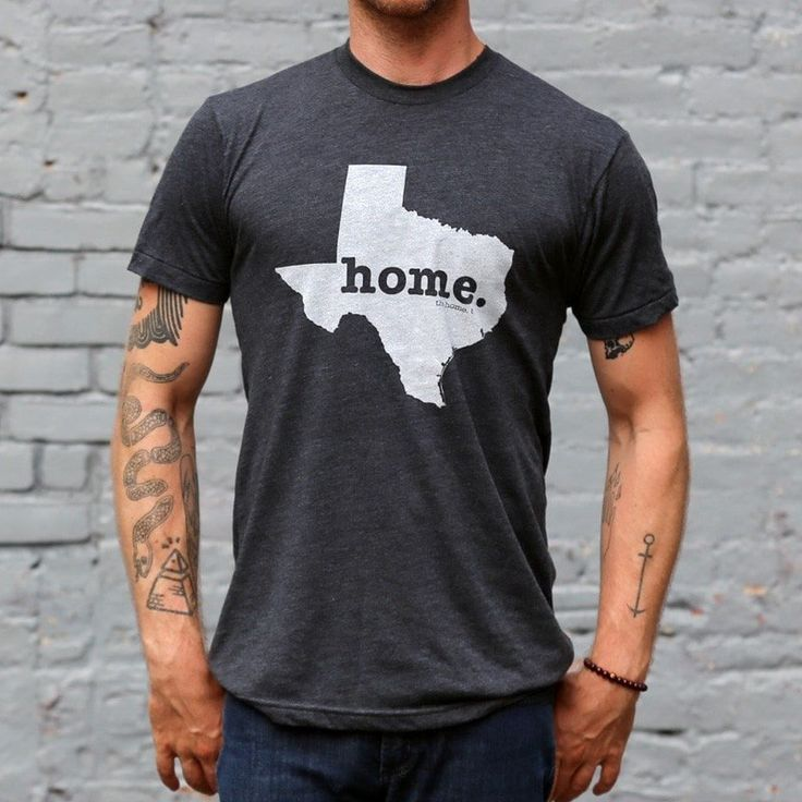 The Texas Home T-shirt is a great way to show your state pride while helping raise money for multiple sclerosis research. It's also insanely soft!