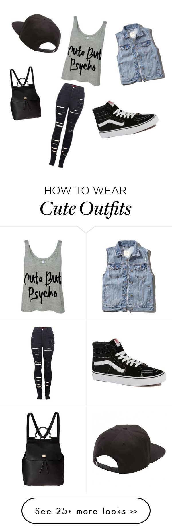 """My First Polyvore Outfit"" by vanillekakes on Polyvore"