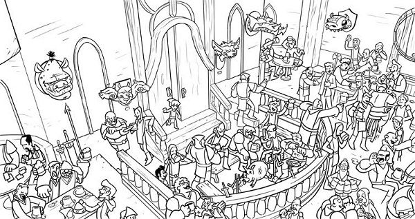 difficult coloring pages for older