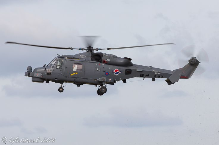 AW159 Wildcat destined for the South Korean Navy performs a pre-delivery training flight at Newquay Airport [OC] [1024x683]