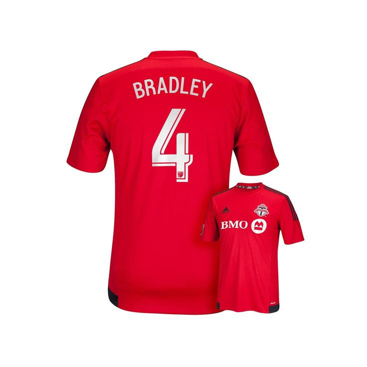 Men's Adidas Toronto FC Michael Bradley Jersey, Size: XXL, Red
