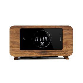 CDock for iphone   Sexy Walnut Face  Walnut + 6' USB + Charger  Made in Portland, OR   $70.00