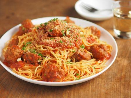 ミートボールスパゲティ|魚料理と簡単レシピ