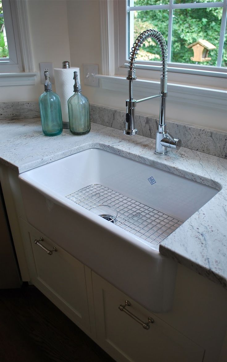 best 10 kitchen sink faucets ideas on pinterest apron sink love the apron sink and that its under the granite countertop just need the sink to be two cmt