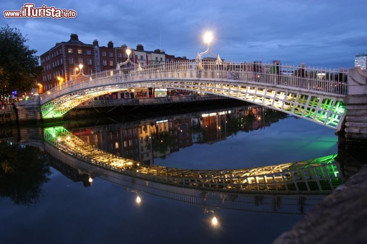 Immagine Hapenny Bridge, Dublino