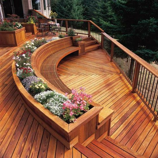 15 Stunning Deck Design For Beautifying the Patio Place - Top Inspirations