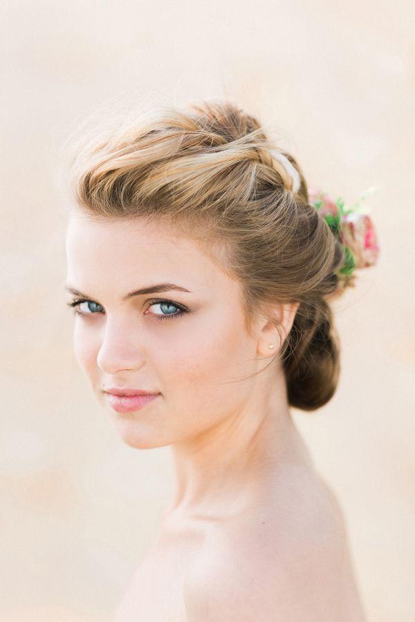 natural and elegant wedding makeup