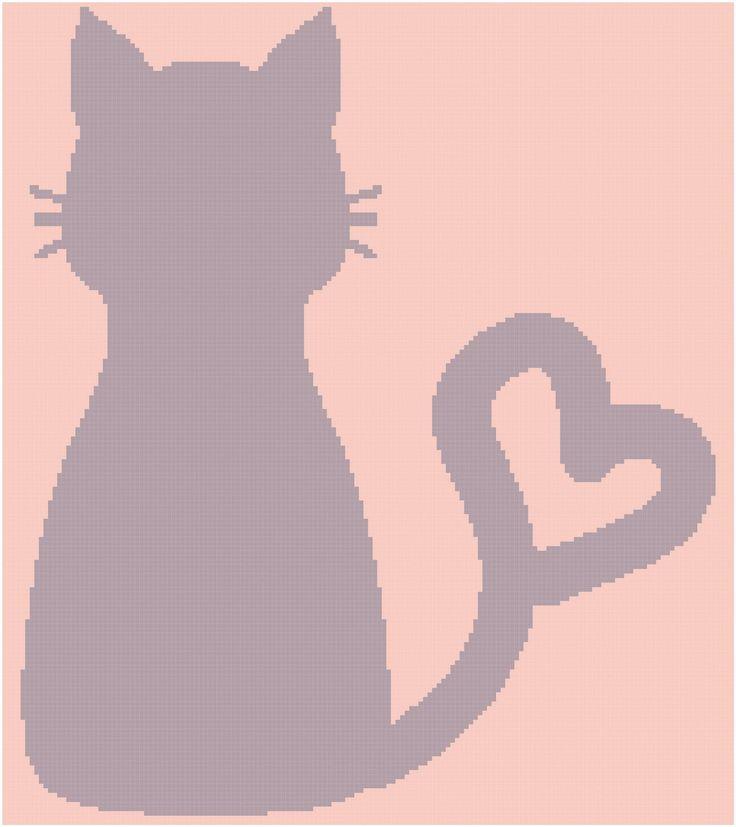 Cat silhouette 160x180