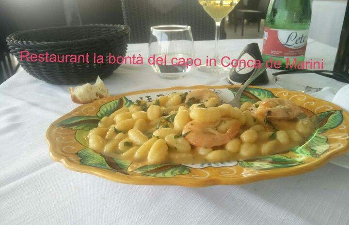 Restaurant La Bontà del capo in Conca de Marini