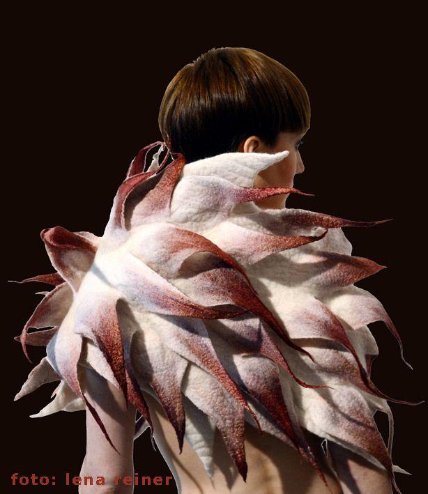 Berlin Fashion Design Textiles Felt