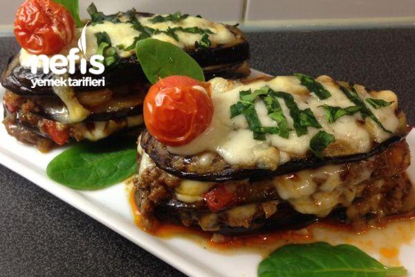 Patlıcan Lazanya (Beşamel Sossuz) #patlıcanlazanya #lazanyatarifleri #sebzeyemekleri #nefisyemektarifleri