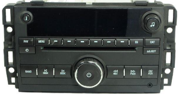 GM 2007  CD Mp3 USB UUI Radio Tahoe Yukon Trucks 20968152 Delco