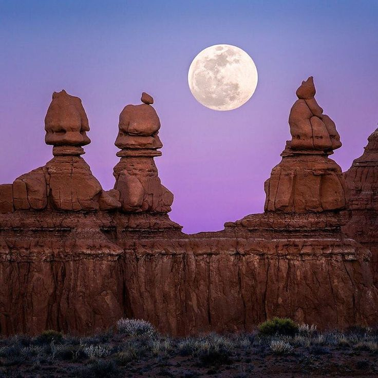"""Three things cannot be long hidden: the sun, the moon, and the truth."" ~ Buddha  Goblin Valley State Park, Utah, USA"