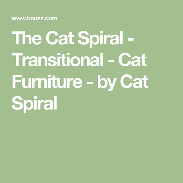 The Cat Spiral - Transitional - Cat Furniture - by Cat Spiral