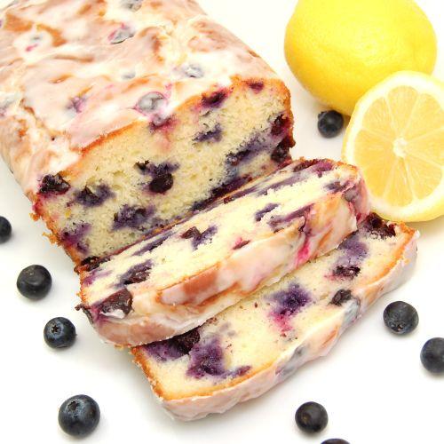 Lemon-Blueberry Yogurt Loaf by sweetpeaskitchen #Blueberry_Loaf #Yogurt
