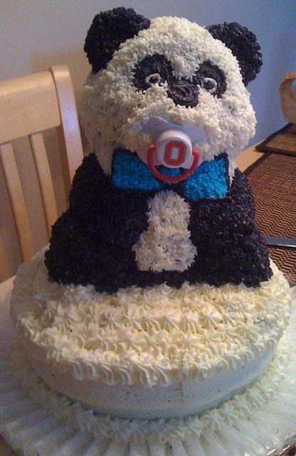 Karli's Baby Panda Bear Cake!