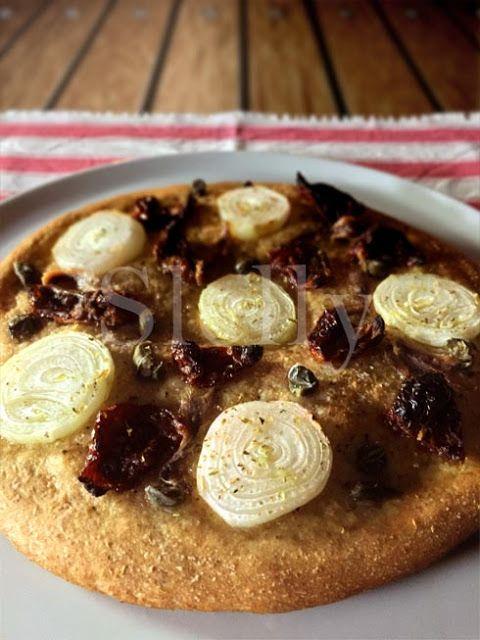 SLELLY: DOMENICA PIZZA 3 - Pizza integrale soffice con cip...
