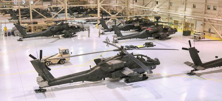 U.S. Army AH-64 Apache gunships. Army photo