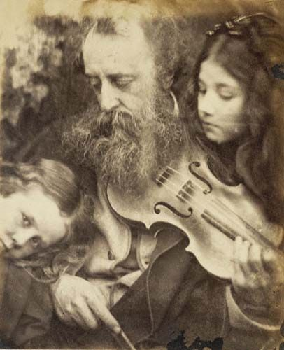 The Whisper of the Muse / Portrait of G.F. Watts, by Julia Margaret Cameron,  1865  J. Paul Getty Museum
