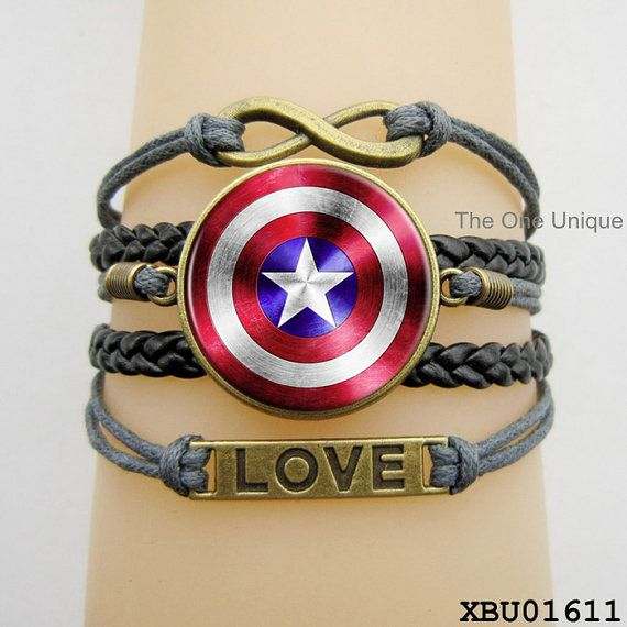 Captain America Shield Captain America Jewelry by TheOneUnique, $9.50