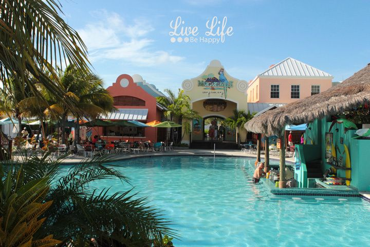 Jimmy Buffett's Margaritaville at Grand Turk Island in the Turks and Caicos.