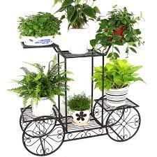 Resultado de imagem para suporte para vasos de plantas em ferro