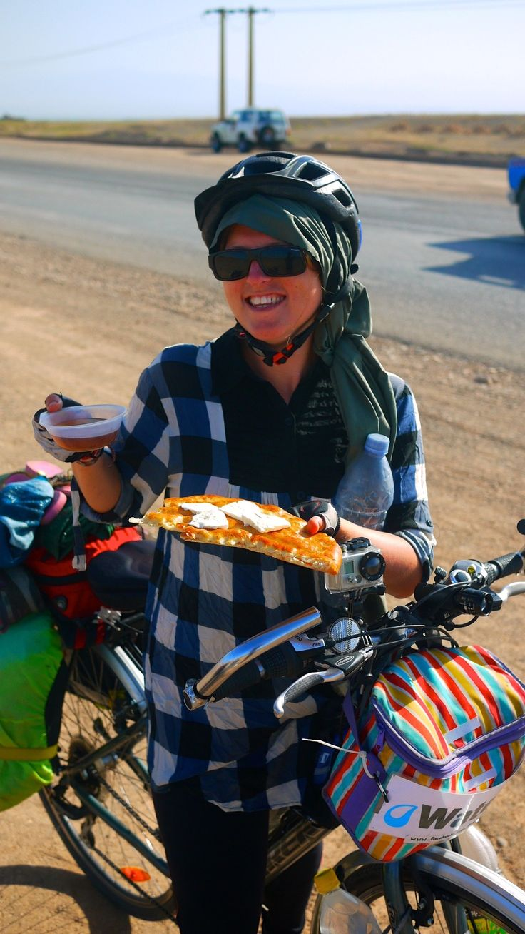Ever wonder what it's like to be a cycling nomad? This video gives a glimpse into a day in the life of a cycle tourist, while cycling in Kazakhstan.