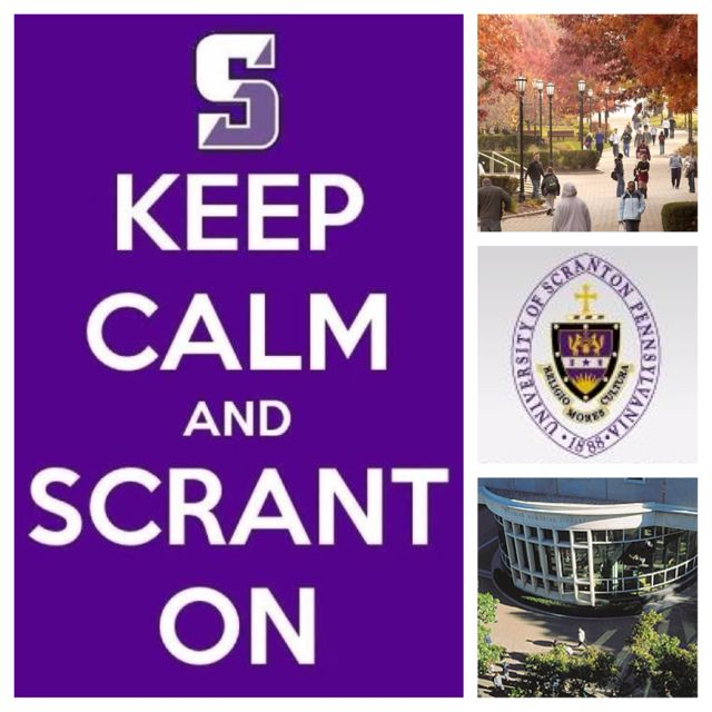 University of Scranton!! ...next time I should do one with drunk college pics. It would be a much more accurate representation of our 4 years there.