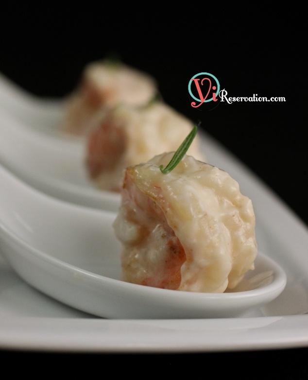 Creamy Coconut Shrimp Buffet Style. W/ step by step photos