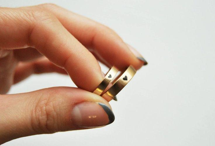 Обручальная пара «Золотое сердце» | Dari Jewelry