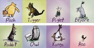 The Future is Better: Winnie the pooh characters as mental disorders.