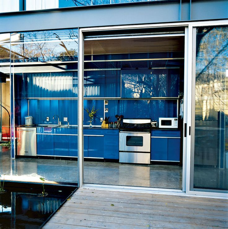 Bercy residence kitchen rear