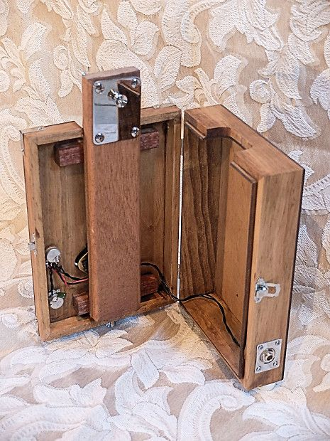 Loaded Pro 6 String Electric Opening Cigar Box Guitar Body | Reverb