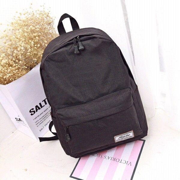 2017 New Fashion Nylon Bags Women Korea Style Washed Leather Shoulder Bag Leisure Travel Bags Girls