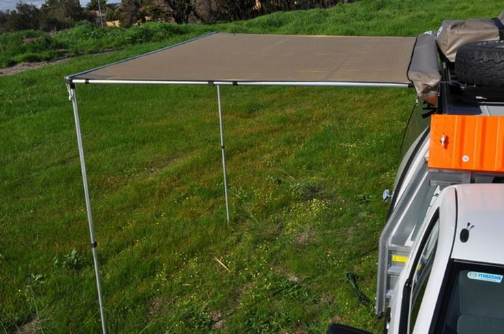Front Runner Easy-Out Awning 2M #overlanding #glamping #camping #frontrunner #offroad #tent #awning #roofrack #rooftent #outdoors #funstufftodo