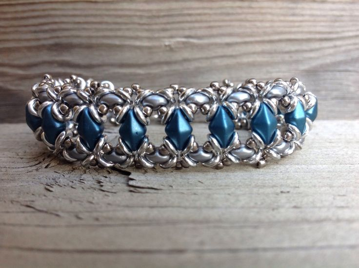 A personal favorite from my Etsy shop https://www.etsy.com/ca/listing/493808655/super-diamond-bracelet